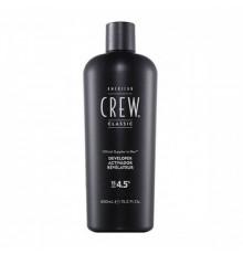 Биоактиватор 4.5% American Crew Precision Blend Developer для волос 450 мл.