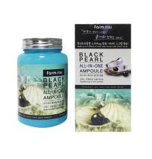 Ампульная сыворотка для лица с черным жемчугом FarmStay Black Pearl All In One Ampoule , 250 мл