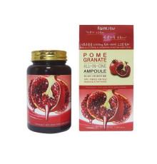 Ампульная сыворотка для лица с экстрактом граната FarmStay Pomegranate All In One Ampoule , 250 мл