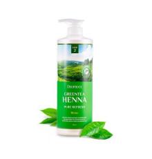 Бальзам для волос с зеленым чаем и хной Deoproce Rinse Greentea Henna Pure Refresh , 1000 мл