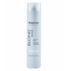 Освежающий бальзам для волос оттенков блонд, 300 мл Kapous Professional