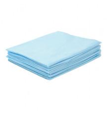 Простыни СМС Чистовье Комфорт (голубые) 200х80 см. 20 шт/упк.