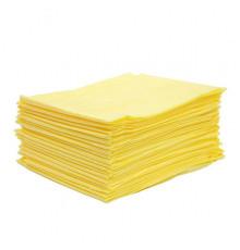 Простыни СМС Чистовье Стандарт Желтый 200х80 см 20 шт/упк.