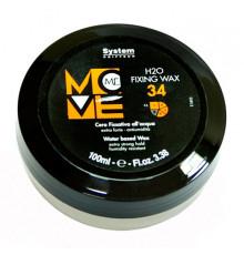 "Фиксирующий воск ""Сила воды"" Dikson Coiffeur Move Me 34 H2O Fixing Wax для укладки волос 100 мл."