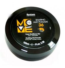 Паста для моделирования матовая Dikson Coiffeur Move Me 36 Shaping Mat Pomade для укладки волос 100 мл.