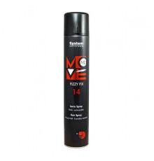 Лак-спрей сильной фиксации Dikson Coiffeur Move Me 14 Fizzy Fix Hair Spray для укладки волос 500 мл.