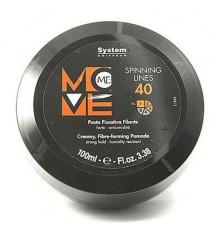 Нитевидный крем-гель Dikson Coiffeur Move Me Spinning Lines с УФ-фильтром для укладки волос 100 мл.