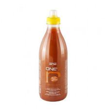 Восстанавливающий и питательный шампунь Dikson Coiffeur One's Shampoo Riparatore с хитозаном, шоколад с орехами для ломких, сухих и очень чувствительных волос 1000 мл.