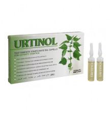 Тонизирующее средство Dikson Coiffeur Urtinol с экстрактом крапивы для ухода за волосами и кожей головы 10 ампул по 10 мл.