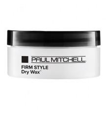 Водоотталкивающий воск Paul Mitchell Firm Style Dry Wax для сильной фиксации волос