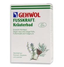 Травяная ванна Gehwol Fusskraft Herbal Bath для размягчения жесткой кожи ног