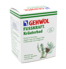Травяная ванна Gehwol Fusskraft Herbal Bath для ног 10 шт. по 20 гр.