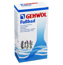 Ванна для ног Gehwol Foot Bath с бальзамирующим эффектом масел 400 гр.