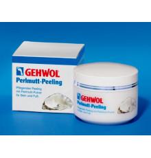 Жемчужный пилинг Gehwol Med Perlmutt Peeling (Gehwol Mother-of-Pearl scrub) для ног 125 мл.