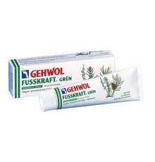 Зеленый бальзам Gehwol Fusskraft Green для нормальной кожи ног 75 мл.