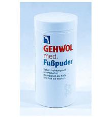Пудра-адсорбент Gehwol Med Foot Powder для решения проблемы влажных ног, грибка и неприятного запаха 100 гр.