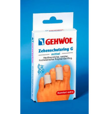 Гель-кольцо на палец большое Gehwol Comfort Toe Protection Ring G (Zehenschutzring G) для ног 2 шт.