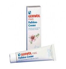 Крем-дезодорант Gehwol Med Deodorant Foot Cream для устранения запаха ног 75 мл.