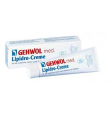 Крем Гидро-баланс Gehwol Med Lipidro Cream для сухой кожи ног 75 мл.