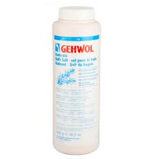 Соль для ванны с розмарином Gehwol Badesalz Bath Salt для снятия усталости 1000 гр.