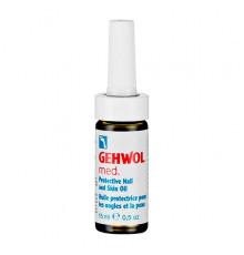 Масло Gehwol Med Protective Nail and Skin Oil для эффективной защиты от грибковых заболеваний 15 мл.