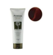 Гель-маникюр для волос темно-коричневый Gain Cosmetics Haken Premium Pearl Pure Gel Color , 220 г