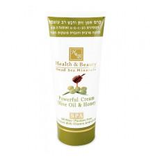 Интенсивный крем на основе оливкового масла и меда Health and Beauty SPA Powerful Olive Oil and Honey Cream для разглаживания морщин и растяжек 180 мл.