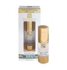 Шелковая сыворотка Health and Beauty Body and SPA Lifting And Firming Silk Serum для лифтинга и упругости кожи лица и шеи 30 мл.