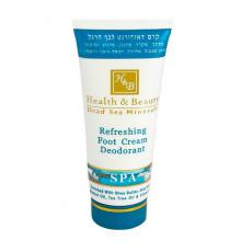 Освежающий крем-дезодорант Health and Beauty Body and SPA Refreshing Foot Cream Deodorant для ног 100 мл.