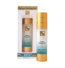 Уникальный пилинг-гель Health and Beauty Body and SPA Unique Peeling Gel для лица 50 мл.