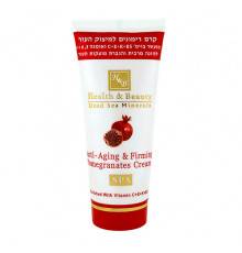 Гранатовый крем Health and Beauty Body and SPA Anti-Aging and Firming Pomegranate Firming Cream для подтягивания кожи 100 мл.