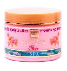 Ароматический пилинг Роза Health and Beauty Body and SPA Aromatic Body Peeling Rose для тела 450 мл.