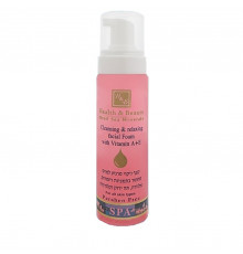 Очищающий мусс с витамином А и Е Health and Beauty Body and SPA Cleansing & Relaxing Facial Foam для лица 225 мл.