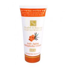 Антивозрастной крем с облепихой Health and Beauty Body and SPA Anti-Aging Obliphicha Cream для тела 180 мл.
