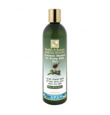 Шампунь с добавлением оливкового масла и меда Health and Beauty Hair Care Olive Oil and Honey Shampoo for Strong Shiny Hair для волос 400 мл.