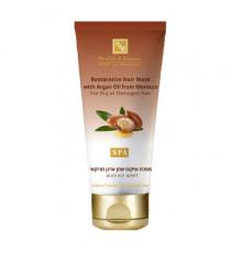 Маска с маслом марокканской аргании Health and Beauty Hair Care Restorative Hair Mask with Argan Oil from Morocco для волос 200 мл.