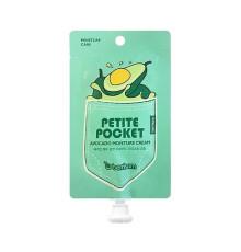 Крем для тела с экстрактом авокадо Berrisom Petite Pocket Avocado Moisture Cream , 30 мл