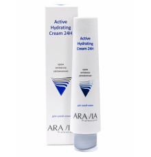 Aravia professional Крем для лица активное увлажнение Active Hydrating Cream 24H, 100 мл