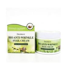 Биокрем против морщин с экстрактом улитки Deoproce BIO Anti-Wrinkle Snail Cream , 100 г