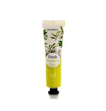 Крем для рук парфюмированный FRESH GREENTEA Deoproce Perfumed Hand Cream , 50 г
