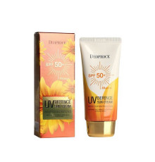 Солнцезащитный крем Deoproce UV Defence Sun Protector SPF50+ PA+++ , 70 г