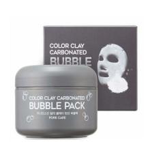 Маска для лица глиняная пузырьковая G9Skin Color Clay Carbonated Bubble Pack , 100 мл