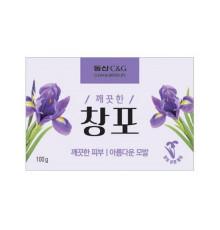 Мыло туалетное с экстрактом ириса Clio New Iris Soap , 100 г