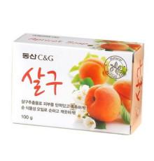 Мыло туалетное с экстрактом абрикоса Clio Apricot Soap , 100гр