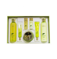 Набор для лица уходовый Deoproce Premium Greentea Total Solution Skin Care 5 Set , 260мл*2/ 100мл / 40мл*2 / 30мл*2