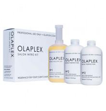 Набор Olaplex Salon Intro Kit для восстановления волос 3 штуки по 525 мл.