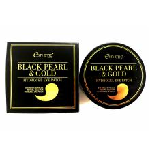 ESTHETIC HOUSE Гидрогелевые патчи для глаз ЧЕРНЫЙ ЖЕМЧУГ/ЗОЛОТО Black Pearl&Gold Hydrogel EyePatch, 60 шт