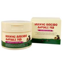 Диски пропитанные эссенцией с экстрактом авокадо Eyenlip Morning Avocado Ampoule Pad , 120 мл