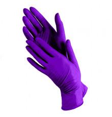 Нитриловые перчатки размер XS Чистовье для окрашивания волос и защиты рук при окрашивании и химической завивке