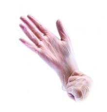 Перчатки полиэтиленовые размер L Чистовье для окрашивания волос и защиты рук при окрашивании и химической завивке